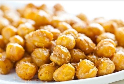 Garlic Roasted Chick Peas